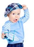 красивейшая крышка мальчика немногая Стоковая Фотография RF