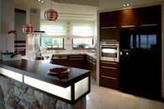 красивейшая кухня Стоковые Фото