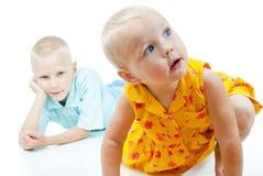 Красивейшая маленькая девочка стоковая фотография rf