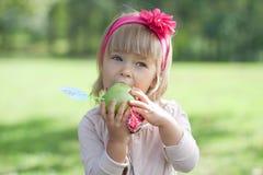 Красивейшая маленькая девочка Стоковое Изображение