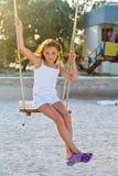 Красивейшая маленькая девочка стоковые фотографии rf