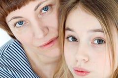 красивейшая мать дочи Стоковое фото RF