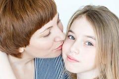 красивейшая мать дочи Стоковая Фотография RF