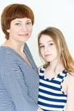 красивейшая мать дочи Стоковые Фото