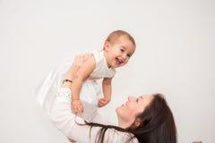 красивейшая мать стоковое фото