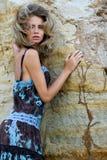 красивейшая модная модель Стоковое фото RF
