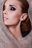 красивейшая модная модель Стоковая Фотография