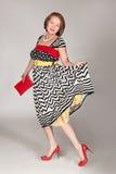 Красивейшая модная midaged женщина Стоковые Фото