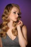 Красивейшая молодая блондинка Стоковые Фото