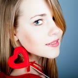 Красивейшая молодая блондинка Стоковые Фотографии RF