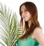 Красивейшая молодая женщина Стоковые Изображения