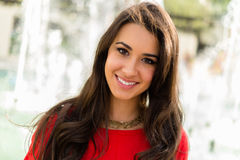 Красивейшая молодая женщина стоковое изображение