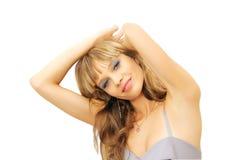 Красивейшая молодая ся женщина Стоковые Изображения