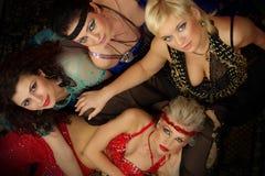 красивейшая модель способа танцора танцульки живота Стоковое Фото
