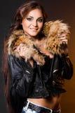 Красивейшая модная женщина Стоковые Фотографии RF