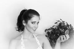 Девушка штыря-вверх год сбора винограда Стоковые Фото
