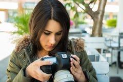 Красивейшая молодая женщина Стоковое Фото