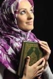 Красивейшая мусульманская девушка способа стоковая фотография rf