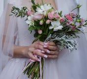 красивейшая невеста букета Стоковые Фото