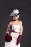 красивейшая невеста букета Стоковое фото RF