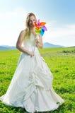 Красивейшая невеста напольная Стоковые Фотографии RF