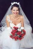 красивейшая невеста стоковое фото