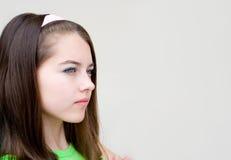 красивейшая обиденная девушка стоковая фотография