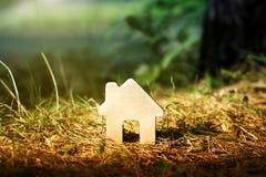 красивейшая дом деревянная Стоковые Изображения