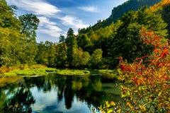 красивейшая долина Стоковое Изображение RF