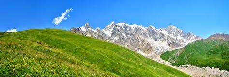 красивейшая панорама горы стоковое фото rf