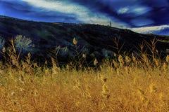 красивейшая перспектива горы Стоковое Фото