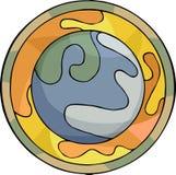 красивейшая планета Стоковое фото RF
