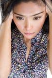 красивейшая плача женщина Стоковая Фотография RF