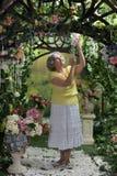 красивейшая пожилая женщина Стоковое фото RF