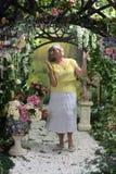 красивейшая пожилая женщина Стоковое Изображение
