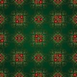 Красивейшая предпосылка безшовной флористической картины Стоковое Изображение