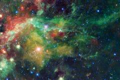 Красивейшая предпосылка космоса Искусство Cosmoc Элементы этого изображения поставленные NASA бесплатная иллюстрация