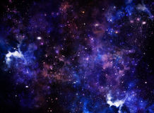 Красивейшая предпосылка космоса Стоковое фото RF