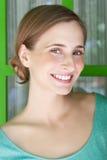 красивейшая представляя женщина Стоковое Изображение RF