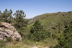 красивейшая природа горы kazakhstan Стоковые Изображения RF