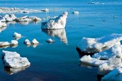 Красивейшая природа, льдед Стоковое фото RF