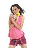 красивейшая пустая голубая девушка карточки подростковая Стоковая Фотография RF