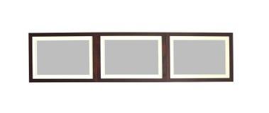 красивейшая рамка сделала фото текстурировать древесину Стоковая Фотография
