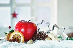 Красивейшая рождества жизнь все еще Стоковое Изображение