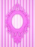 Красивейшая розовая рамка Стоковые Изображения