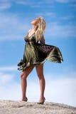 красивейшая сексуальная женщина Стоковые Фото