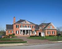 красивейшая серия домов 1a Стоковое Фото