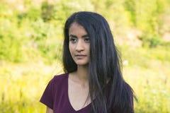 Красивейшая серьезная молодая женщина Стоковое фото RF