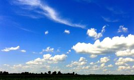 Красивейшая синь Стоковые Фото