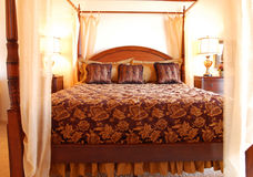 красивейшая спальня Стоковое Фото